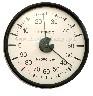 Termohigrometr analogowy do inkbator�w, klujnik�w, odchowanik�w du�a tarcza - 103 mm