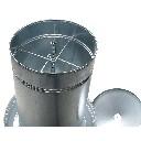 Automat paszowy - karmid�o dla g�si, indyk�w 70 kg metal ocynkowany - zdjecie 2