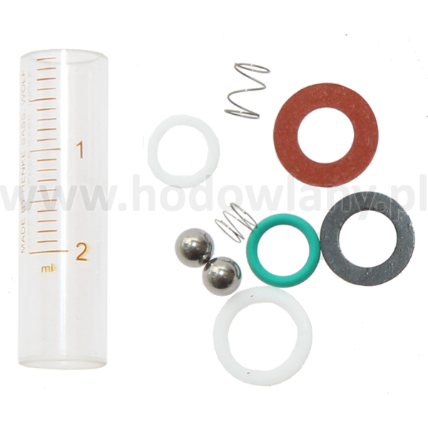 Zestaw naprawczy duży do strzykawki HSW Uni-Matic 2 ml