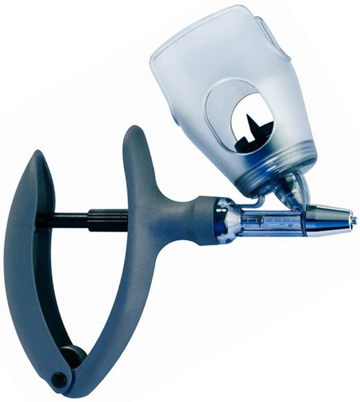 Strzykawka automatyczna  ECO-MATIC 2ml z mocowaniem butelki