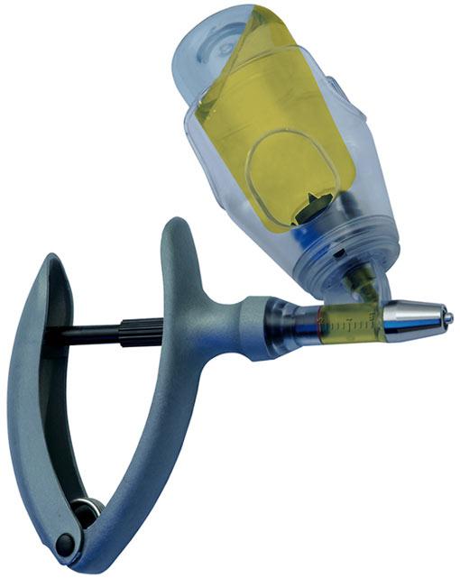 Strzykawka automatyczna  HSW ECOMATIC 5ml z mocowaniem butelki na farmaceutyki