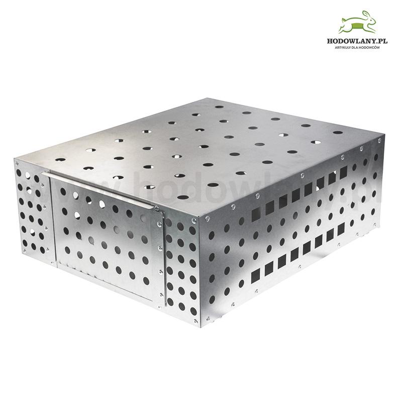 Klatka aluminiowa do transportu do przewozu bażantów, gołębi, kuropatw i przepiórek