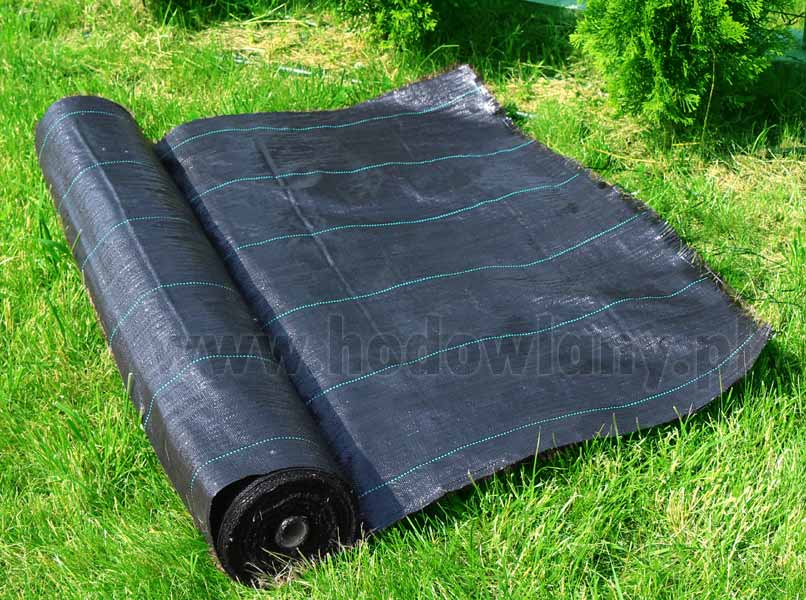 Agrotkanina czarna pod korę 70g 0,8x10m - zdjecie 1