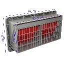 Wlot powietrza do systemu wentylacji w pomieszczeniach inwentarskich - zdjecie 2