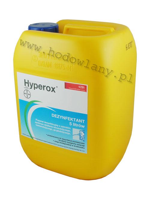 Hyperox - uniwersalny preparat dezynfekcyjny 5l - zdjecie 1