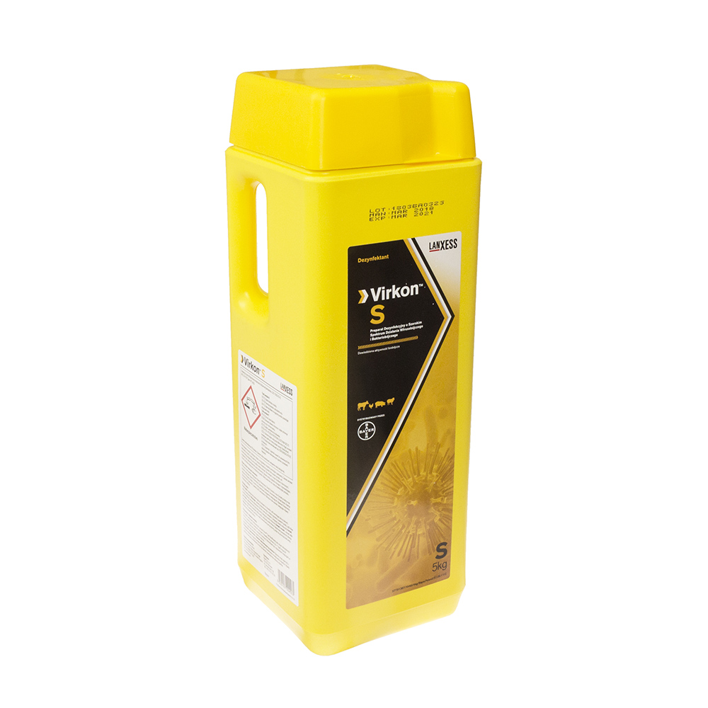 VIRKON S uniwersalny preparat do dezynfekcji 5 kg