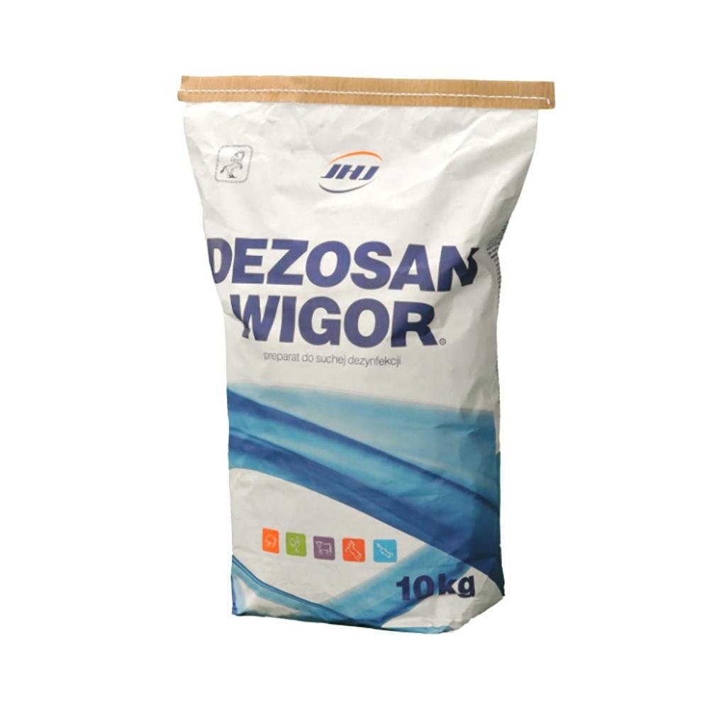 DEZOSAN WIGOR 10 kg preparat do suchej dezynfekcji uniwersalny - zdjecie 1