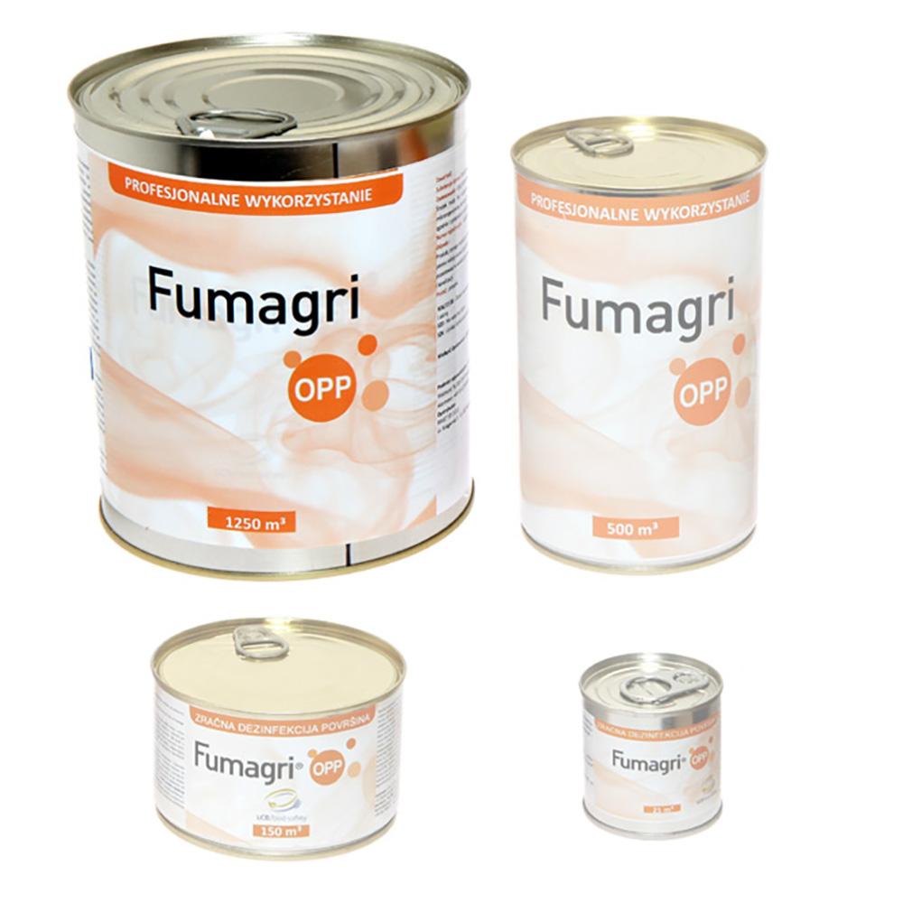 Fumagri Opp 1250 m3 świeca dymna dezynfekcja obiektów inwentarskich - zdjecie 1