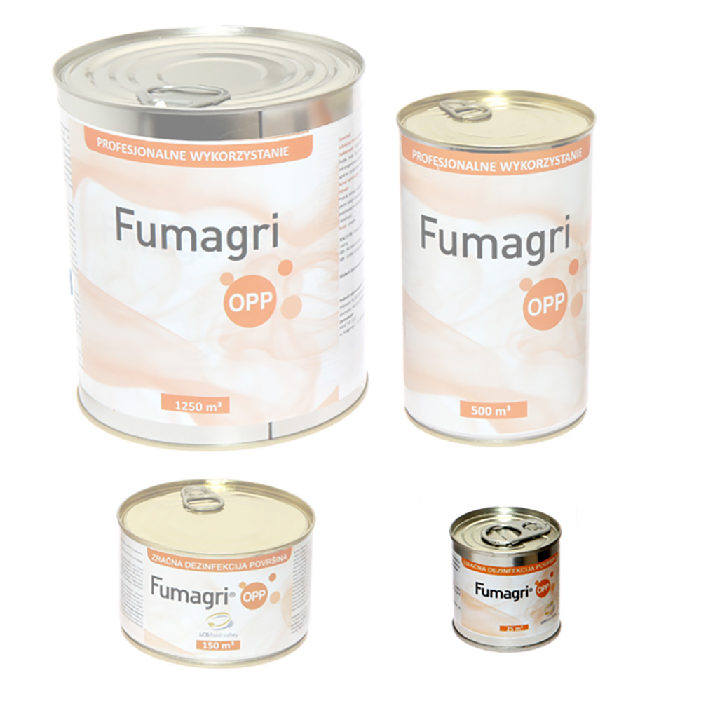 Fumagri Opp 25 m3 świeca do dezynfekcji dymnej silosów i małych obiektów inwentarskich - zdjecie 1