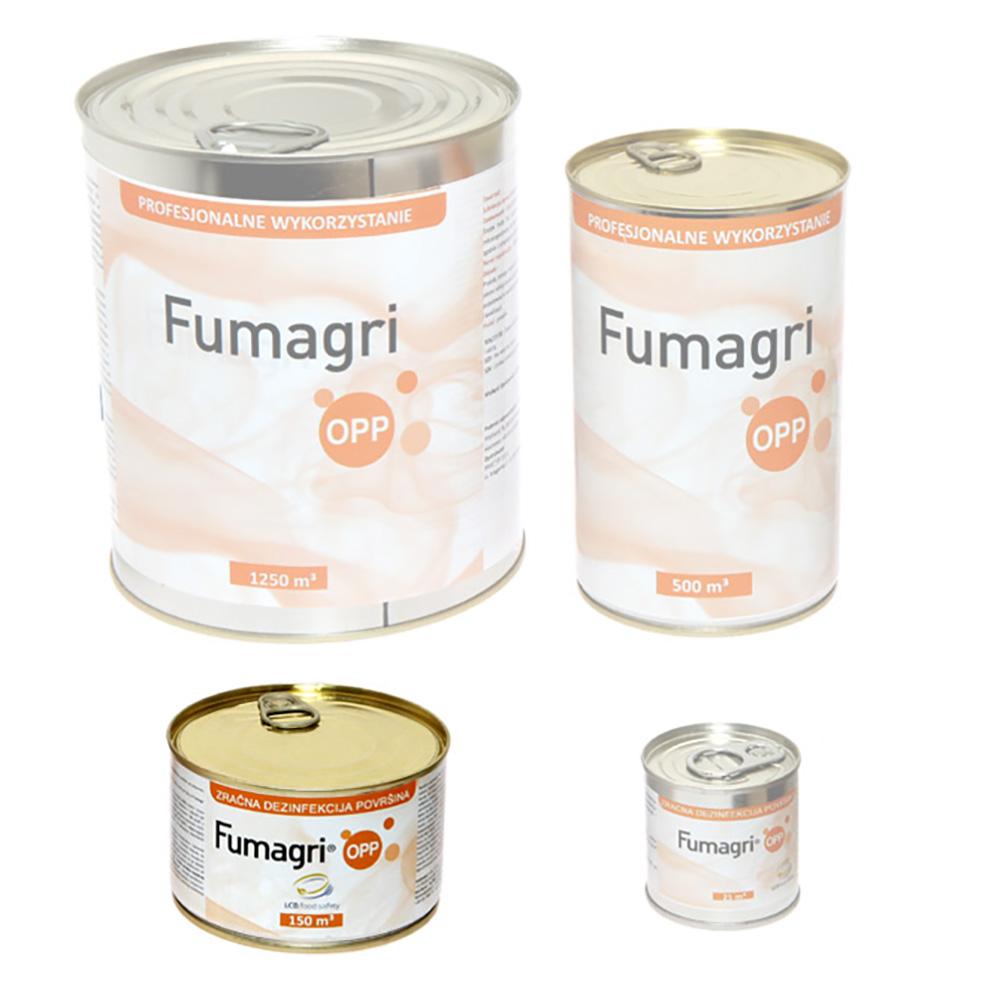 Fumagri Opp 150 m3 świeca dymna do dezynfekcji kurnika, obory, chlewni - zdjecie 1