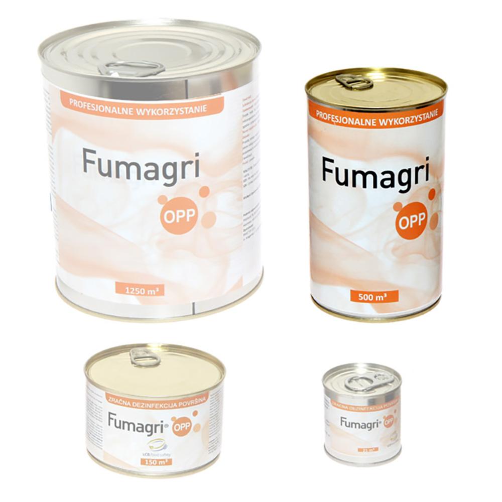 Fumagri Opp 500 m3 świeca dymna dezynfekująca do budynków inwentarskich - zdjecie 1