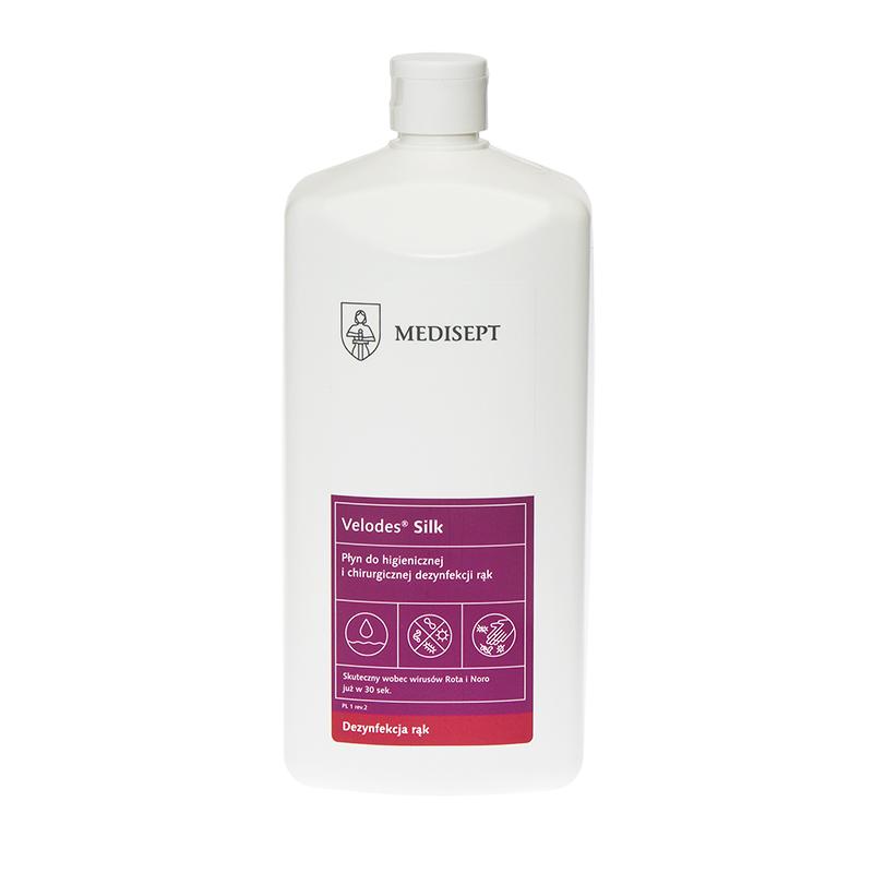 Velodes Soft 1000 ml płyn do dezynfekcji rąk