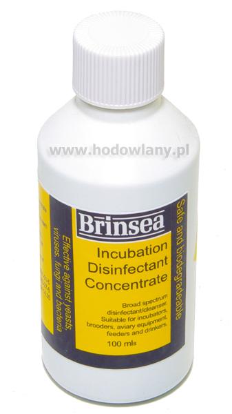 Koncentrat do dezynfekcji jaj i inkubatorów Brinsea 100ml