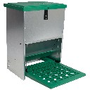 Karmnik zewnętrzny dla drobiu samozamykany Feed-Saver 12 kg