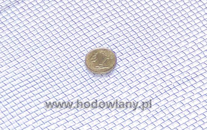 Sito siatka tkana ocynk oczko 3,15 x 3,15 mm drut 0,8 mm rolka 25 mb - zdjecie 1