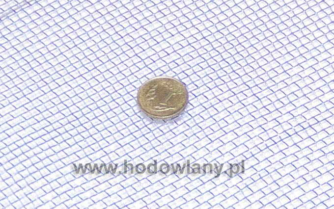 Sito tkane ocynk oczko 3,15 x 3,15 mm drut 0,8 mm 5 mb - zdjecie 1