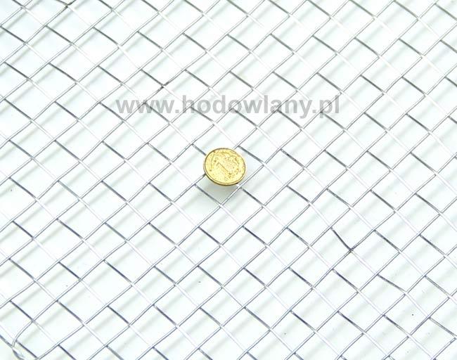 Siatka pleciona  oczko 10 mm drut 1 mm rolka 5 mb - zdjecie 1