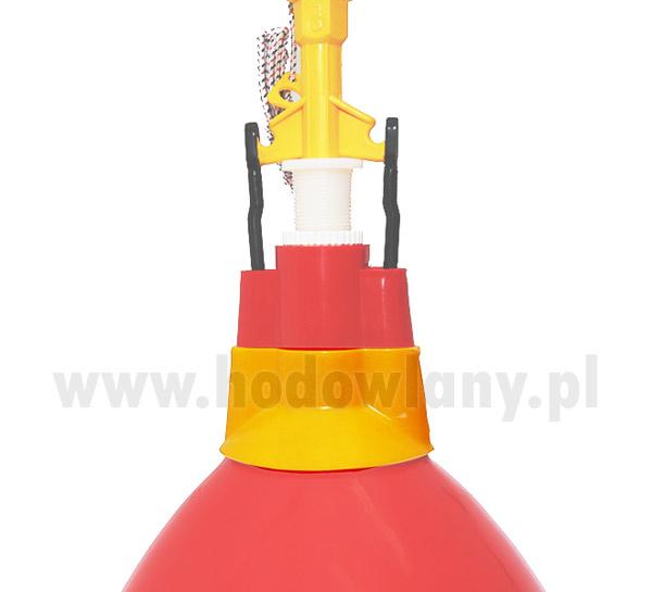 Osłona wylotu wody do poideł dzwonowych - zdjecie 1