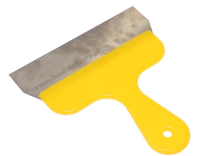 Szpachelka ręczna skrobak do pomiotu - szerokość 20 cm - zdjecie 1