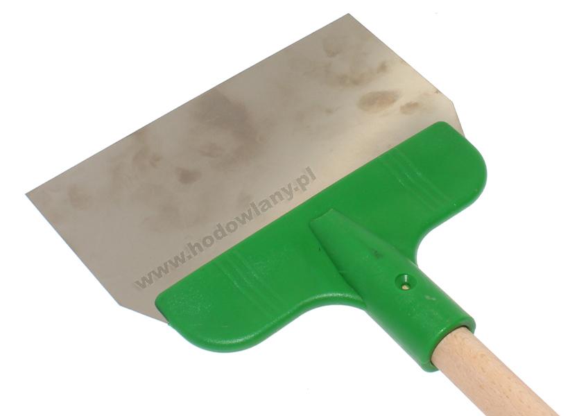 Skrobak podłogowy pomiotu do gołębnika ze sztylem - szerokość 20 cm - zdjecie 1