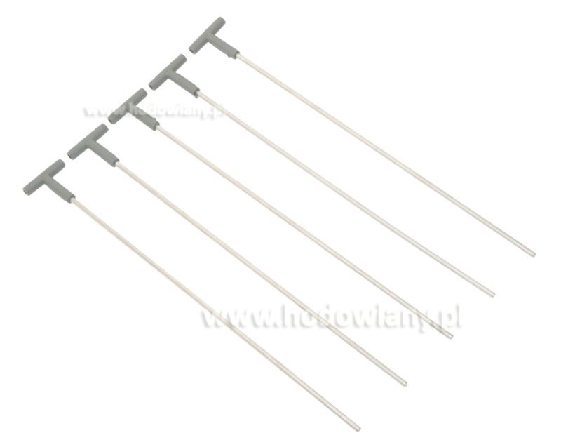 Widełki do wlotów dla gołębi 30cm, aluminiowe - zdjecie 1