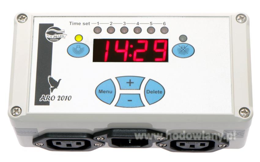 Automatyczny Regulator Oświetlenia w gołębnikach ARO2010 - zdjecie 1