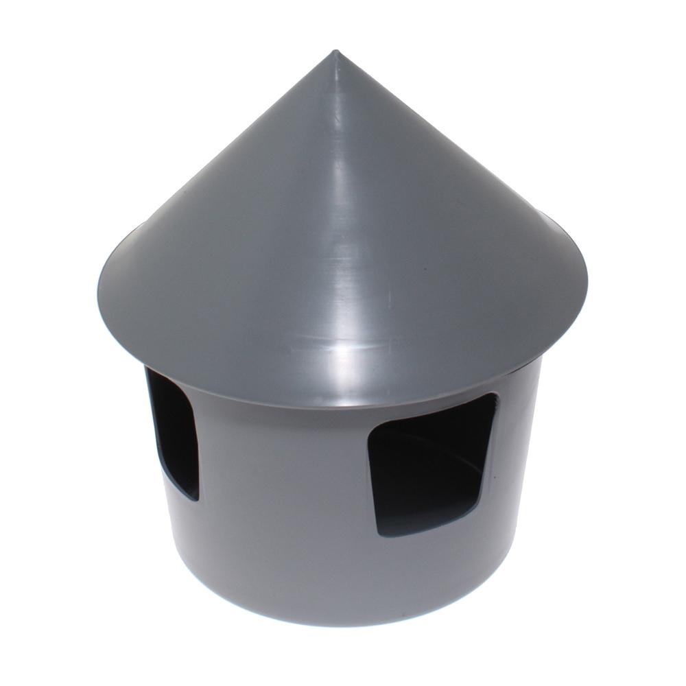 Poidło belgijskie dla gołębi 1 litr szare - zdjecie 1