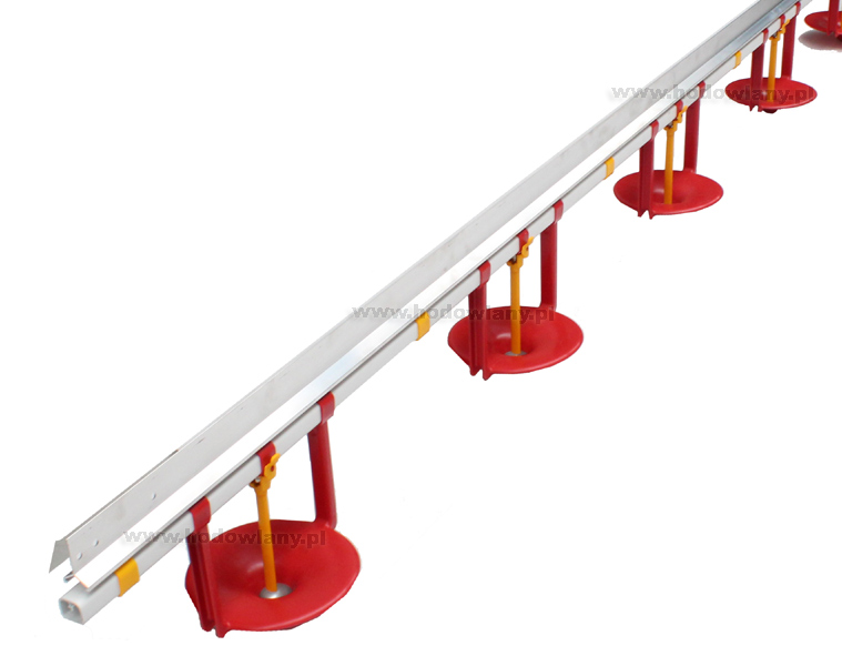 Linia pojenia dla indyków z dużymi miseczkami - 3 m, gotowa - zdjecie 1