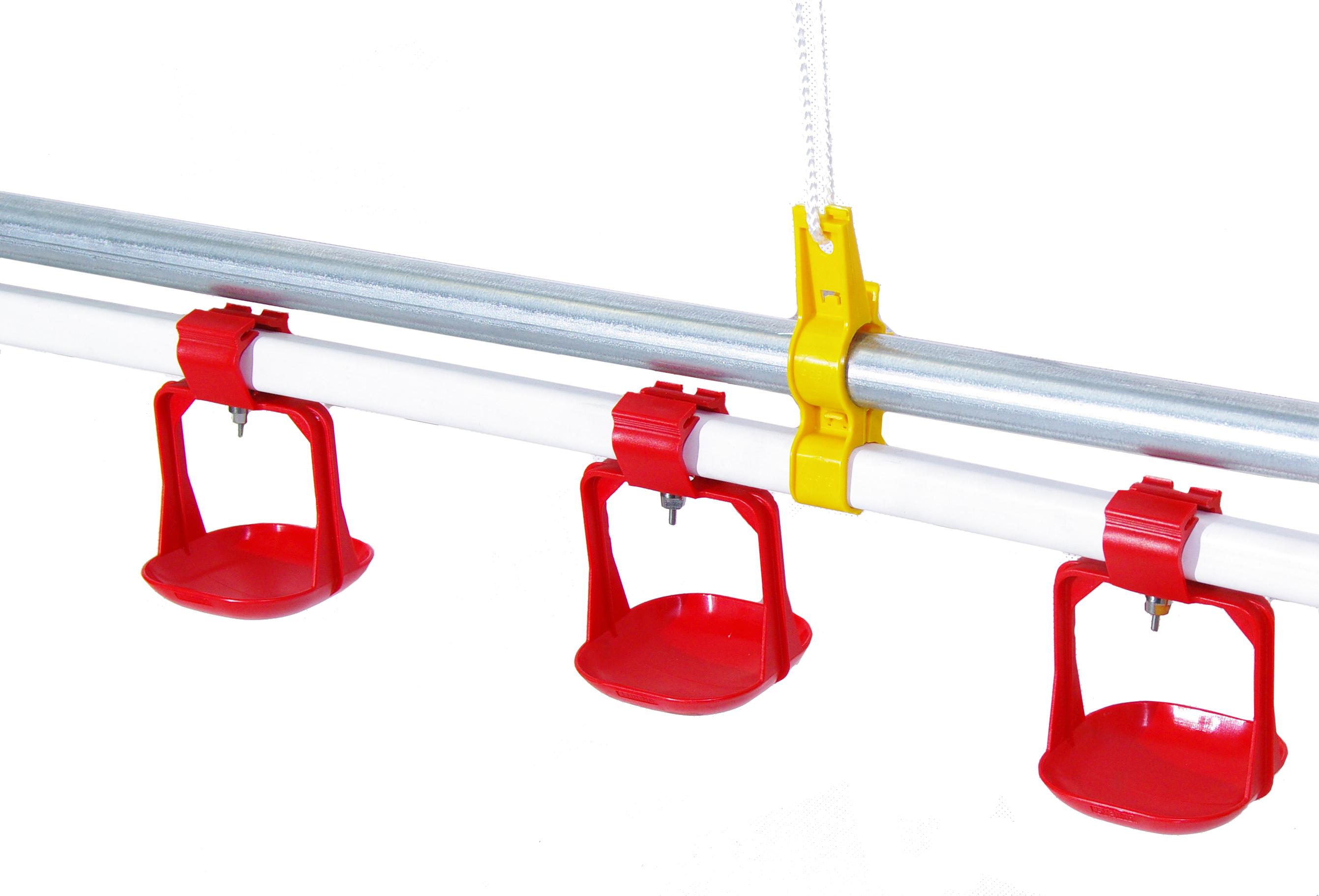 Automatyczna linia pojenia kur zestaw TOP-SC 8 linia 2 mb - zdjecie 1