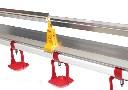 Kompletna linia pojenia dla drobiu TopCOMBI z antygrzędą - 3 metry