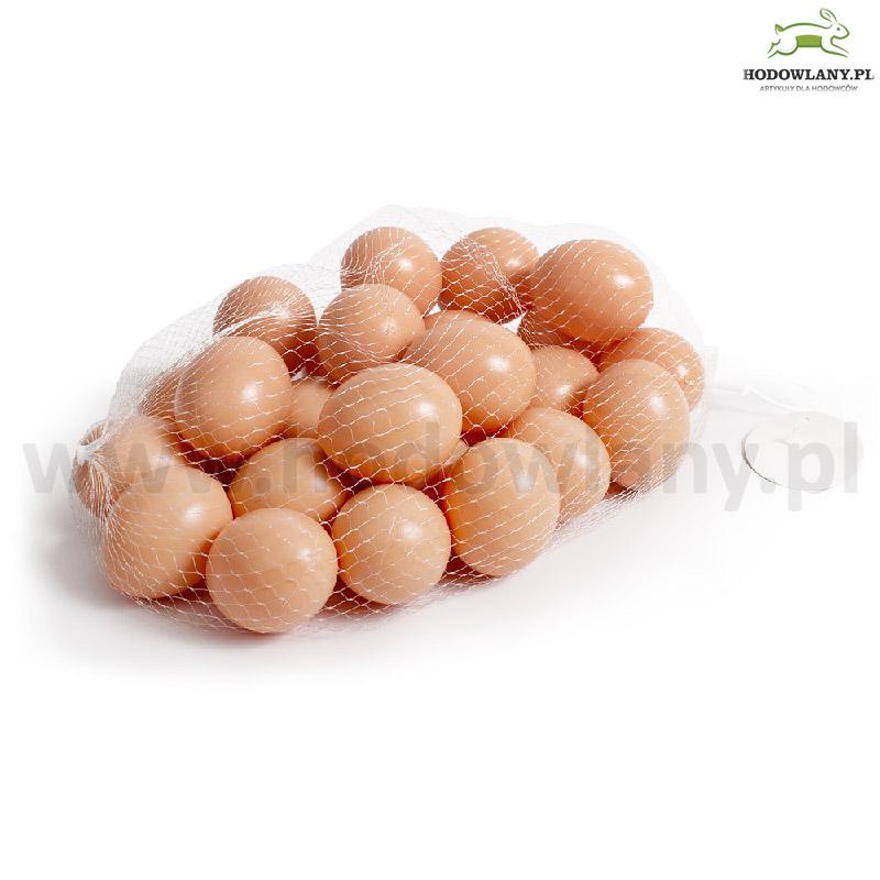 Jajka podkładowe brązowe dla kur - 25 sztuk