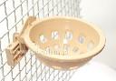 Gniazdko lęgowe dla kanarków, małych ptaszków śpiewających 87mm + uchwyt mocujący - zdjecie 3