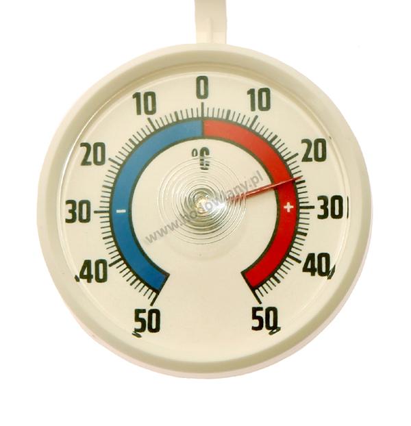 Termometr wskazówkowy do inkubatorów, kurników i gołębników okrągły - tarcza 70 mm - zdjecie 1