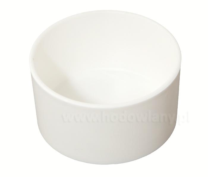 Pojemnik na jajka/paszę dla papug i kanarków biały - zdjecie 1
