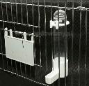 Poidło fontanna dla małych gatunków kanarków i papużek 70 ml białe - zdjecie 3