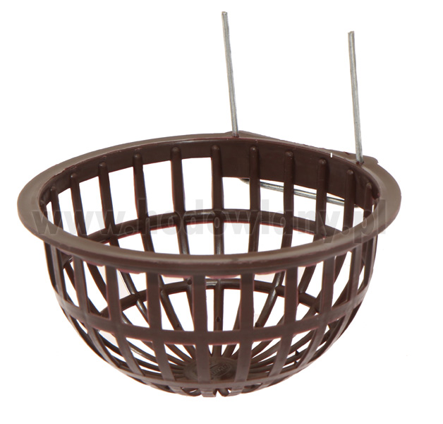 Plastikowe gniazdo lęgowe dla kanarków z zaczepami - zdjecie 1