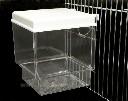 Basen kąpielowy dla kanarków i papug mocowany na zewnątrz klatki - zdjecie 4