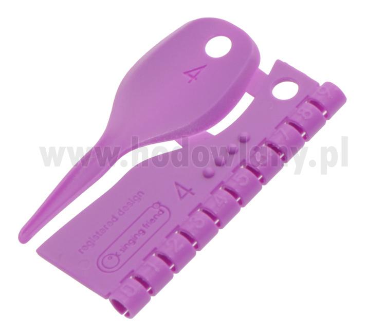 Obrączki do znakowania kanarków 4 mm plastikowe numerowane 0-9 - zdjecie 1