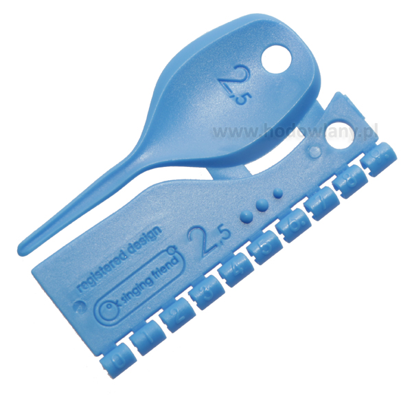 Znaczniki dla kanarków 2,5 mm plastikowe numerowane 0-9 - zdjecie 1