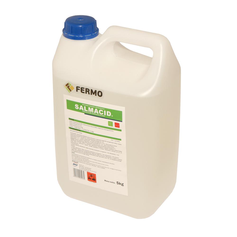 SALMACID 5 kg zakwaszacz do wody profilaktyczny dla drobiu i trzody chlewnej - zdjecie 1