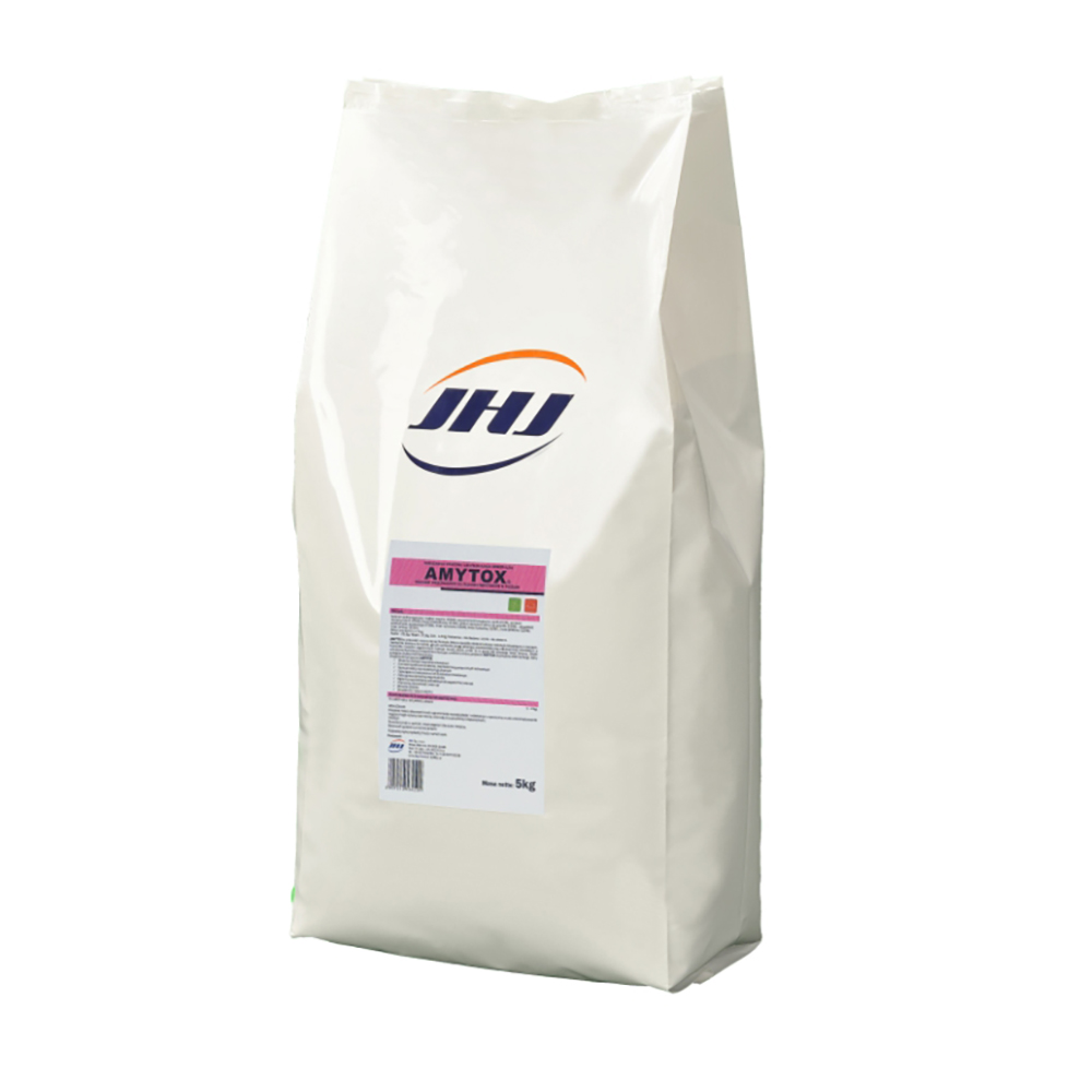 AMYTOX 5 kg preparat ograniczający rozwój pleśni i mykotoksyn w paszach dla  drobiu - zdjecie 1