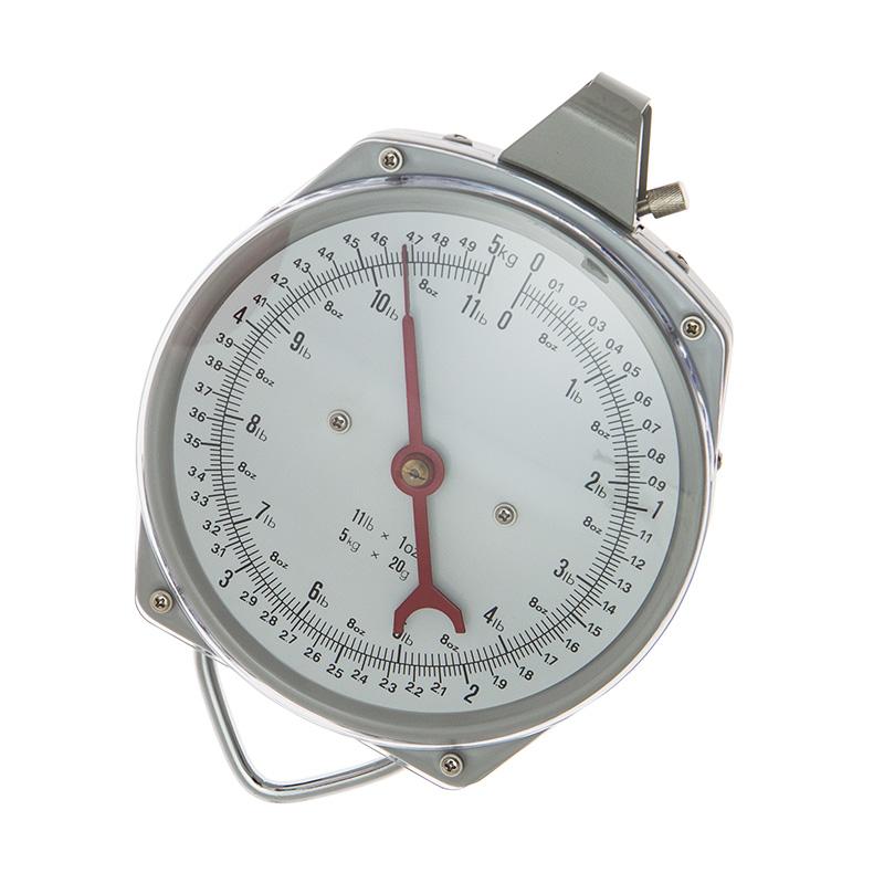 Waga zegarowa zawieszana z hakiem do ważenia drobiu do 5 kg