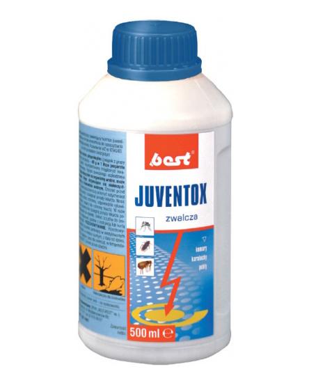 JUVENTOX 500 ml preparat owadobójczy na pchły, karaluchy i komary