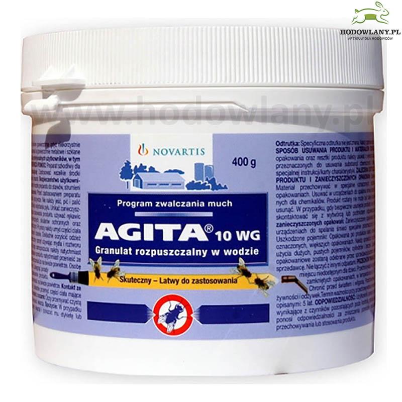 AGITA 10WG 400 g preparat do zwalczania dorosłych much