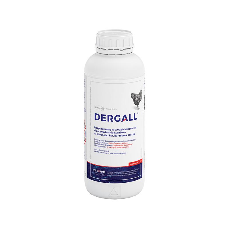 DERGALL 1l  preparat do zwalczania ptaszyńca kurzego