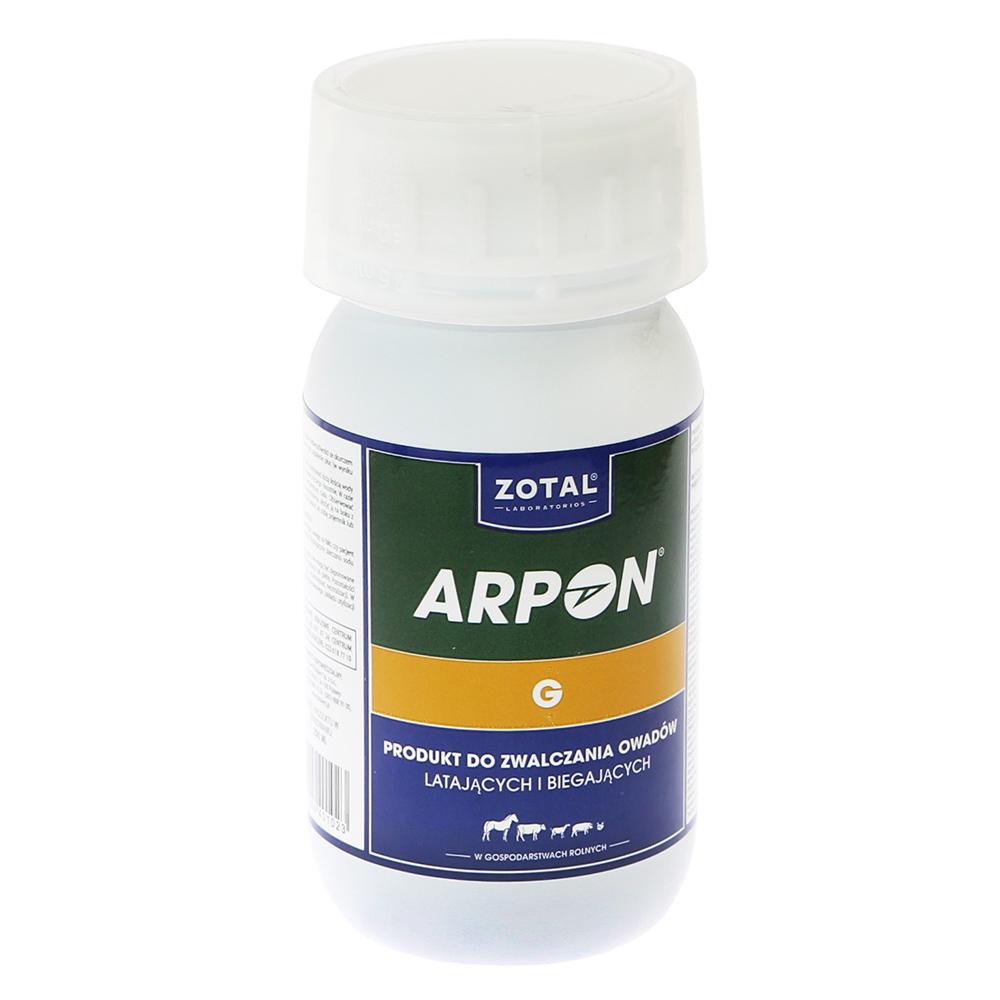 ARPON G 250 ml preparat wszy, pchły, kleszcze, muchy i inne owady