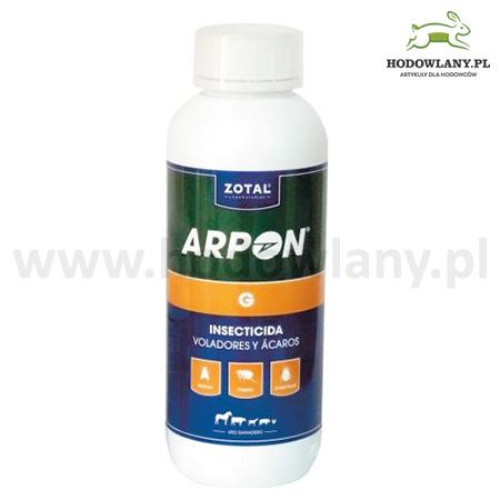 ARPON G 1l preparat wszy, pchły, kleszcze, muchy i inne owady