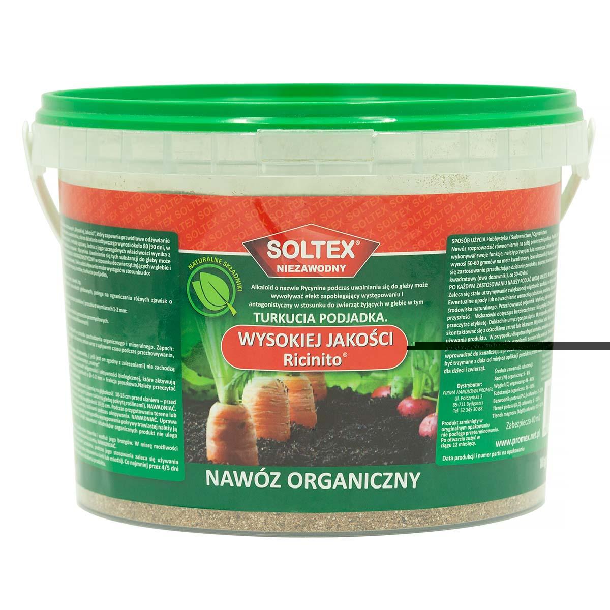 SOLTEX 2 kg granulat na turkucia podjadka i pędraki  - zdjecie 1