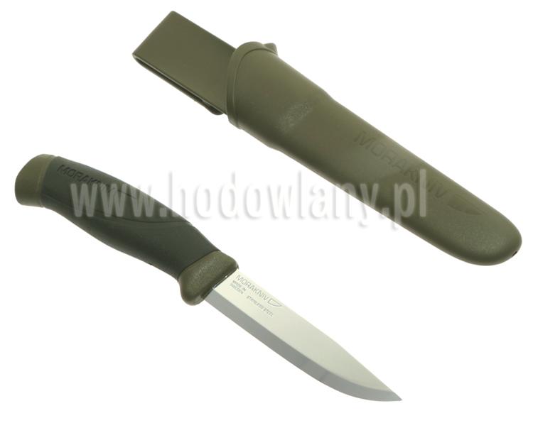 Nóż do czyszczenia, patroszenia zwierząt, uniwersalny, myśliwski - krótka klinga ze stali nierdzewnej - zdjecie 1