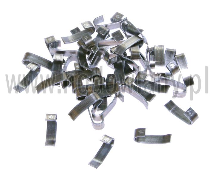 Spinki blaszki fi 4mm do budowy klatek -  50 szt.